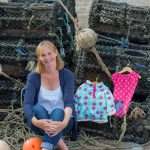 Picture By Jim Wileman - 12/09/2014 Lucy Jewson founder of Frugi organic kidswear company, pictured in Porthleven, Cornwall.